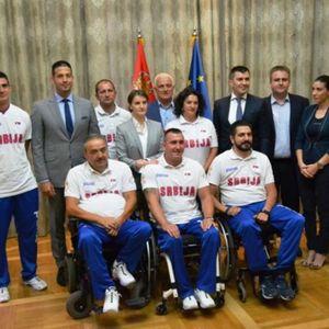 VI STE NAŠI POBEDNICI I HEROJI SVAKOG DANA! Udovičić primio sportiste sa invaliditetom!