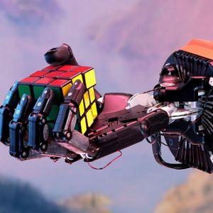Роботска рака решава Рубикова коцка