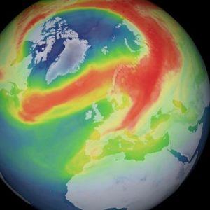 Над Арктикот се отвори невообичаено голема дупка во озонската обвивка