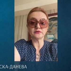ВИДЕО - Останете здрави и пронајдете ја среќата и во ваква состојба, ги советува студентите професорката Ана Павловска-Данева