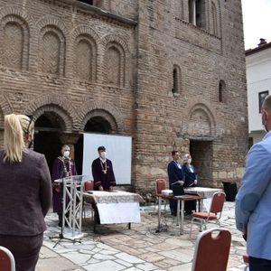 Почна академската година на УКЛО - Централното одбележување се одржа на Факултетот за туризам и угостителство – Охрид