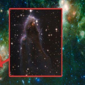 """Вселенскиот телескоп """"Хабл"""" направи фотографија од ѕвезда што се раѓа"""