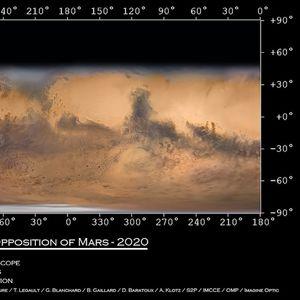 Погледнете ја најдеталната мапа од Марс направена од Земјата