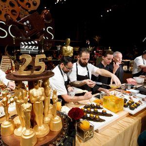 В кухнята на Оскарите: омари, сьомга, ягоди с шоколад и първокласно вино