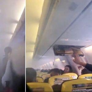 Вижте ужасът, който изпитаха 169 души на борда на самолет в небето над Букурещ