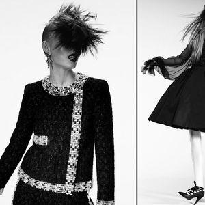 Пънк влиянието завладява новата колекция на Chanel за сезон есен/зима