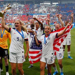 Secret brand deodorant  donates $529,000 to US women's soccer team to help close pay gap
