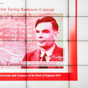 Alan Turing, codebreaker and mathematician, to be face of Britain's new 50 pound note
