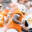 Tennessee backup QB looks confused by sideline phone, becomes latest meme