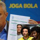 Четири звучни отсуства во составот на Бразил за Копа Америка