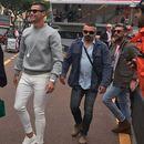 """ВИДЕО: Роналдо се """"подготвува"""" за Сампдорија во друштво на Луис Хамилтон"""