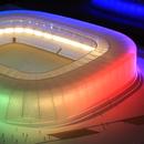 ФОТО: Косово го гради најубавиот Национален стадион на Балканот
