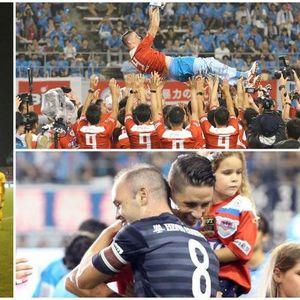 """Торес """"леташе"""" во воздух и со Иниеста и Виља му кажа збогум на фудбалот!"""