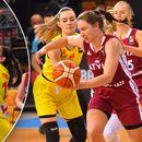 """ФОТО: Квалификацискиот """"пекол"""" за кошаркарките продолжи и со Летонија"""