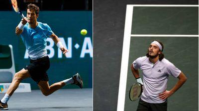 Осминафинални елиминации на Циципас и Гофин на АТП турнирот во Ротердам