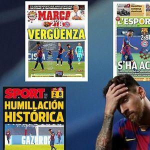 """Светските насловни страници  ја """"погребаа"""" Барселона"""