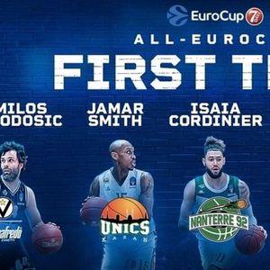 ВИДЕО: Теодосиќ го предводи идеалниот тим на сезоната во Еврокупот