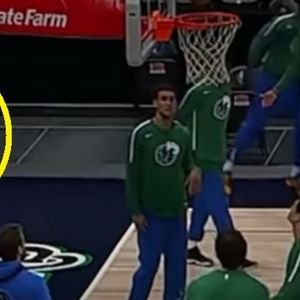 Еден во милион: Дончиќ погоди од зад табла, без гледање и со свртен грб кон кошот...