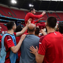"""ФОТО: Пандев """"леташе до небо"""" на својот последен тренинг на Македонија!"""