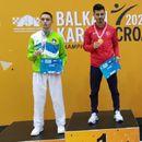 Фахик Весели донесе бронза од Балканското првенство во карате во Пореч
