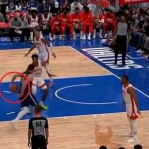 """ВИДЕО: Дончиќ си играше """"каде е топката"""" и го насамари цел тим на Хјустон"""