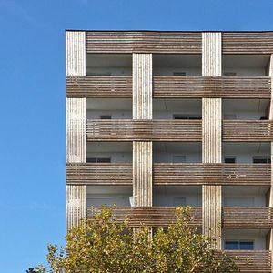 Isprepletena fasada za novi urbani reper francuskog grada