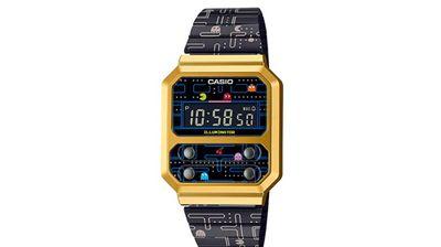 Casio najavljuje retro stilski digitalni sat koji sadrži kultnu PAC-MAN igru