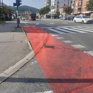 Sve više obeleženih biciklističkih staza u Nišu, na neke se građani već žale