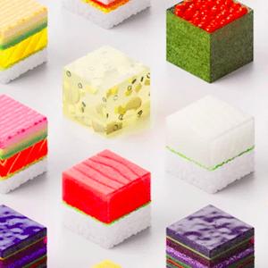 Ресторан служи персонализирано 3Д печатено суши
