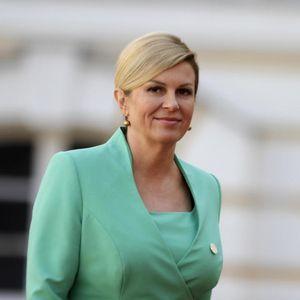 KOLINDA O DVE OMILJENE TEME - FRANJI TUĐMANU I TAKOZVANOJ VELIKOSRPSKOJ AGRESIJI: Predsednica Hrvatske se osramotila na proslavi Dana državnosti!