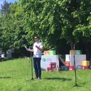 ADRIA MEDIA U AKCIJI UREĐENJA STEPINOG LUGA: Volonteri kompanija okupljenih u Forumu za odgovorno poslovanje uređivali beogradsko izletište (KURIR TV)
