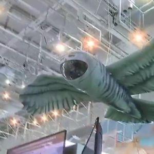 OVAJ RUSKI DRON ĆE ŠIRITI STRAH NOĆU: Napravljen je u obliku moćne ptice, ali je to tek početak