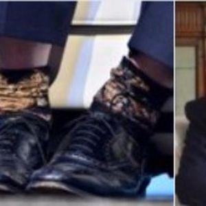 IZVRNUTI BORIS DŽONSON: Kandidat za britanskog premijera došao na intervju, ali su svi gledali u njegove noge!