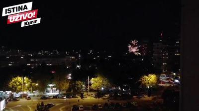 GORI 21. BLOK NA NOVOM BEOGRADU: Delije slave pobedu Crvene zvezde u Kopenhagenu! KURIR TV