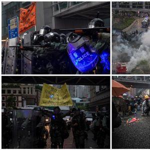 POLICIJA U HONGKONGU UHAPSILA 36 DEMONSTRANATA: Najmlađi ima samo 12 godina! (FOTO, VIDEO)