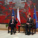 KURIR TV UŽIVO IZ PALATE SRBIJA, VUČIĆ I ZEMAN POSLE RAZGOVORA U ČETIRI OKA: Predsednici Srbije i Češke o ekonomskim temama i Kosovu
