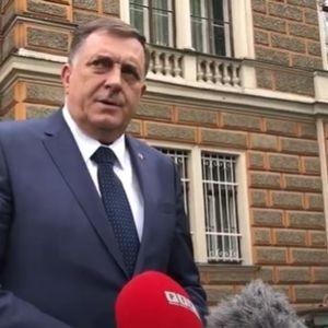 DODIK SA MITROPOLITOM HRIZOSTOMOM: Vidljivo je da se pitanje imovine SPC u Sarajevu nije pomerilo sa početka!