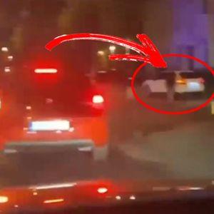 """POTERU U ZEMUNU SMO VIDELI, PORŠE JE UMAKAO POLICIJI: A evo šta se desilo posle, """"kolega"""" mu poručio da UČI DA VOZI!"""