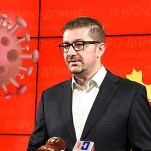 KORONA U MAKEDONSKOJ OPOZICIJI: Lider VMRO-DPMNE Hristijan Mickoski pozitivan na virus