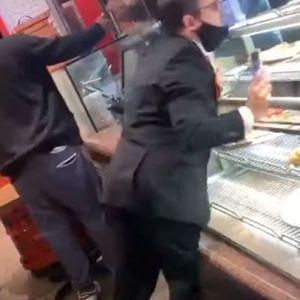 HAOS U RESTORANU U TORONTU: Kada je video da druga mušterija ne nosi masku, počeo je da razbija sve oko sebe