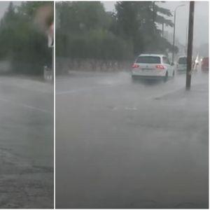 POTOP U DALMACIJI: U Sinju pala čak 32 litra kiše, a temperatura se spustila za 14 stepeni za pola sata