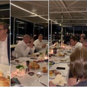NEVEROVATNA NOĆ U BEOGRADU: Grenel objavio video sa broda gde je večerao s Vučićem, evo kako je bilo VIDEO