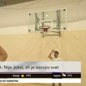 ON JE OSVOJIO SVET! Ova priča košarkaša iz Srbije, vredna je HOLIVUDSKOG filma! (KURIR TELEVIZIJA)