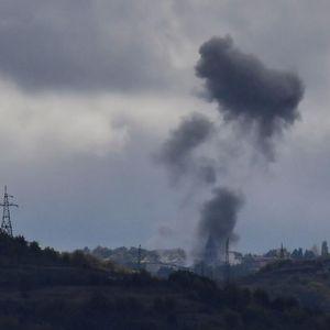 EKSPLOZIJA NA NEBU IZNAD NAGORNO-KARABAHA: Oboren azerbejdžanski dron! Ovako je pogođen, a onda je sve buknulo