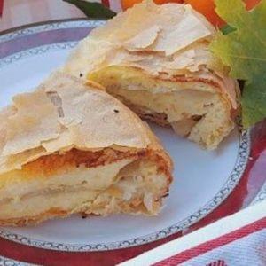 GRČKA PITA SA GRIZOM, SIROM I JAJIMA! Recept za savršenu večeru, cela porodica će je OBOŽAVATI!