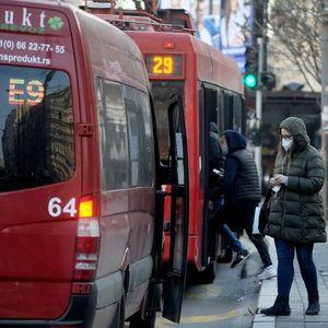 OD DANAS MANJI BROJA POLAZAKA NA LINIJAMA E2 I E9: Uvođenjem novih mera smanjen broj putnika