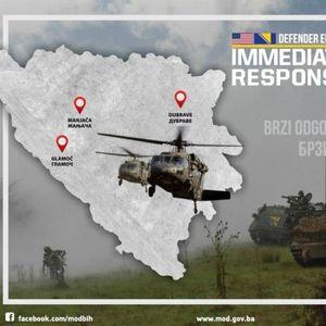 AMERIKANCI STIGLI NA MANJAČU: Kolona prošla kroz Banjaluku pod strogim obezbeđenjem VOJNE POLICIJE!