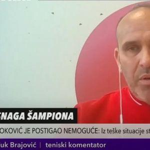 VUK BRAJOVIĆ: Novak je na grend slemovima pet puta od 0:2 preokrenuo na 3:2 KURIR TV
