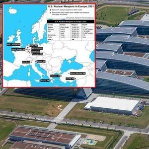 NUKLEARNI ARSENAL NATO PAKTA U EVROPI Šta sadrži strateški dokument MC 400! Ove vazduhoplovne BAZE su ključna skladišta bombi B61