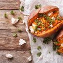 Recept dana: Slatki krompir punjen piletinom